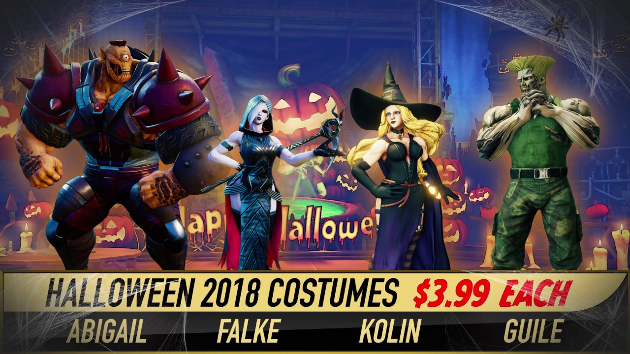 street fighter v: arcade edition - halloween costumes 2018 - youtube