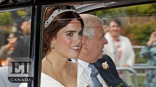 Princess Eugenie's Royal Wedding Arrival | ROYALS
