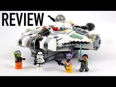 LEGO Star Wars REBELS The Ghost Review - Set 75053