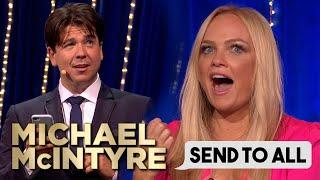 Emma Buntons Hilarious Wedding Invite Text | Send To All | Michael McIntyres Big Show YouTube Videos