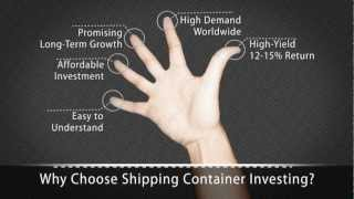 5 Reasons For Investing in a Shipping Container Investment