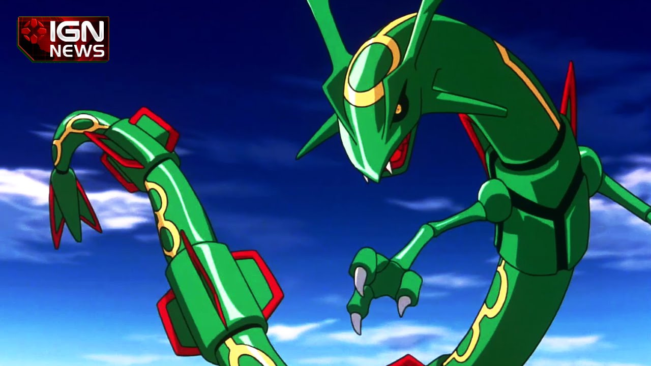 Rayquaza will mega evolve in alpha sapphire and omega ruby ign news youtube - Pokemon rayquaza mega evolution ...