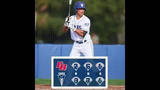 Menlo College Baseball Highlights 2-19-19