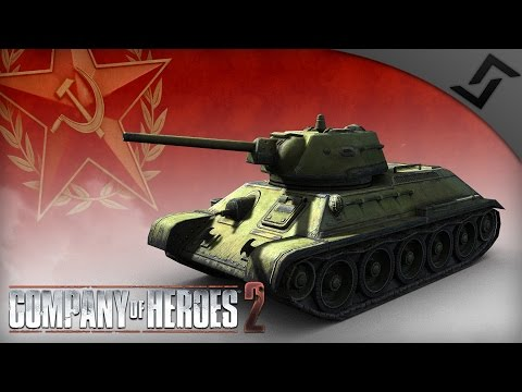 T-34 Ramming Operations - Company of Heroes 2 - Theatre of W