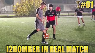 I2BOMBER IN REAL MATCH - Il 1° GOAL di Zapinho #1