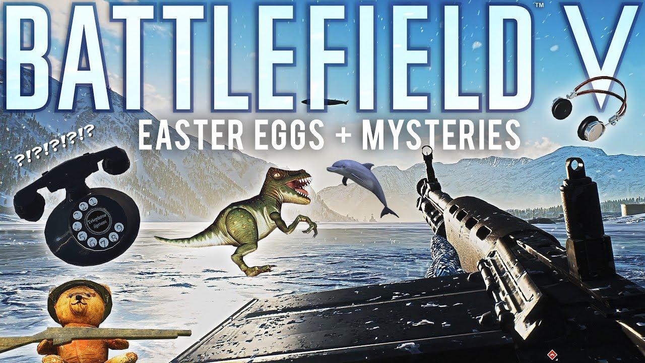 Battlefield 5 Ostereier und Geheimnisse + video