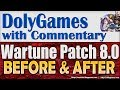 Wartune Patch 8.0 - Before & After Comparison New Rewards: Devotion, Check-in, Blacksmith