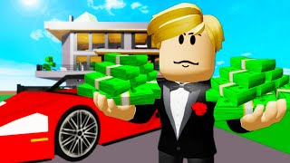 The Baby Billionaire! Một bộ phim Roblox Brookhaven (Brookhaven RP