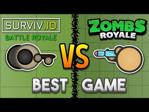 Surviv.io VS. Zombsroyale.io - Which Is The Best 2D Battle Royale Game? (Slightly Outdated)