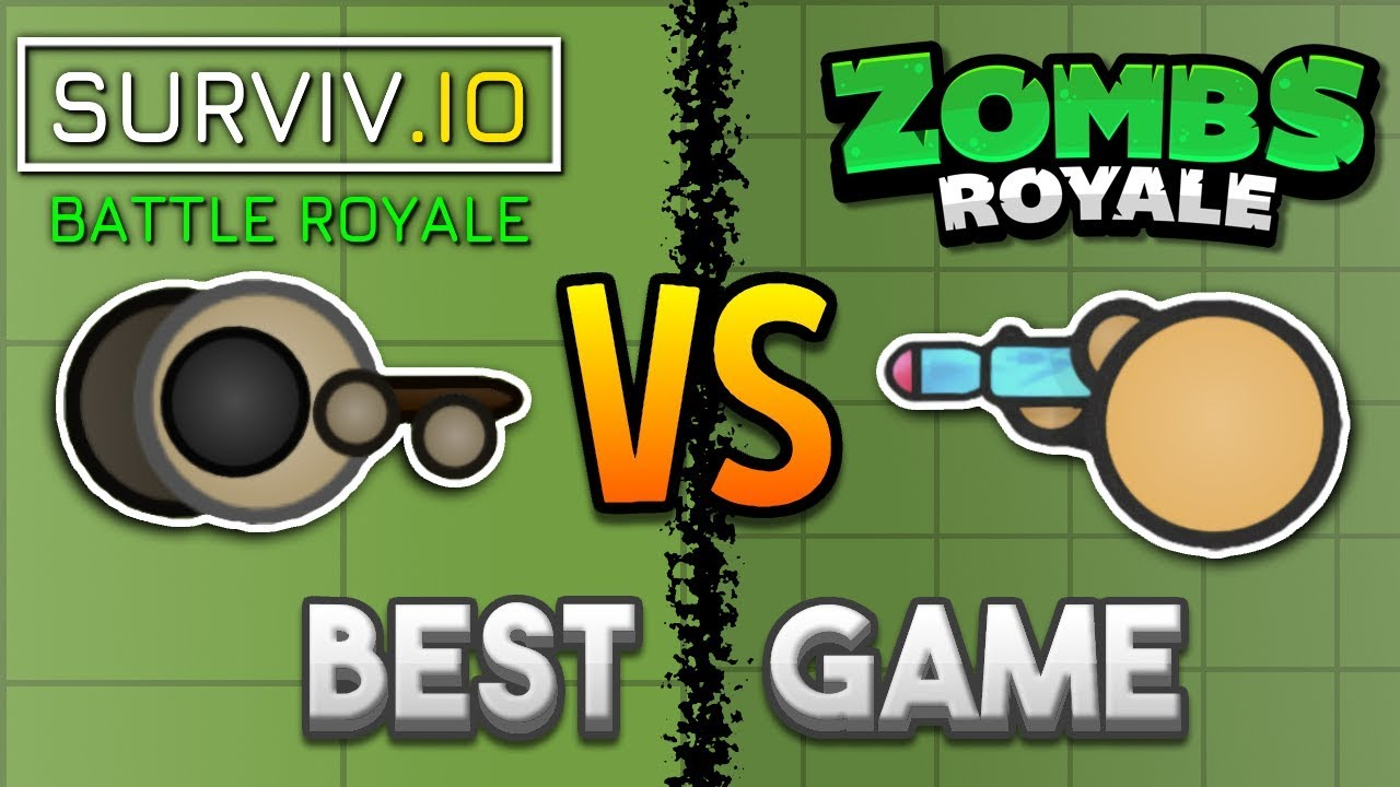 Surviv Io Vs Zombsroyale Io Which Is The Best 2d Battle Royale
