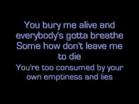 Bury Me Alive - We Are The Fallen with lyrics