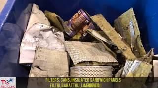 TC Recycling - Filtri, barattoli, lamiere coibentate - Molino Verticale a Densità Variabile