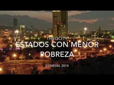 Estados de México con menor Pobreza | 2014-2015