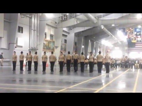 Harold L. Richards NJROTC Unarmed Exhibition Area 3 2015-16