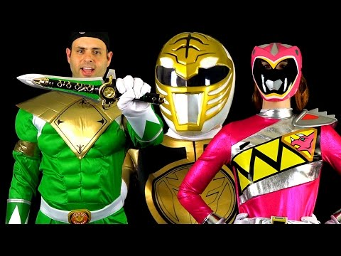 Power Rangers Halloween Costumes & Props! (MMPR & Dino Charge)
