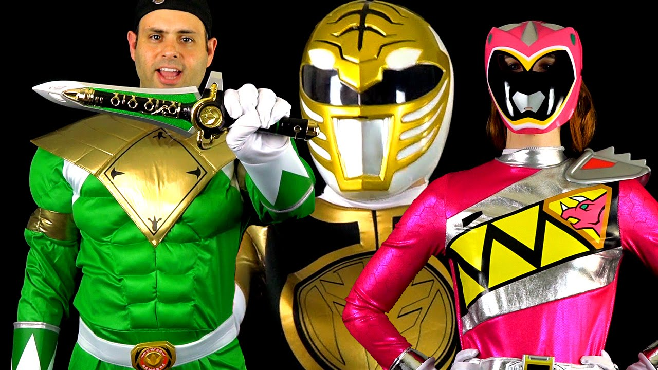 Power Rangers Halloween Costumes & Props! (MMPR & Dino Charge ...