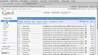 Single File Restore