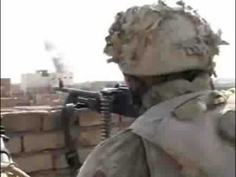 3rd Marines 1st Battalion Fighting in  Fallujah, Iraq