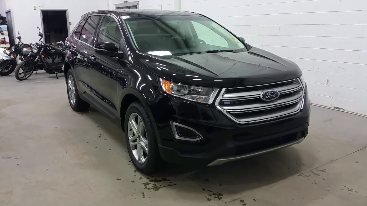 2017 ford edge titanium w heated steering wheel alloy wheels sync 3 review boundary ford. Black Bedroom Furniture Sets. Home Design Ideas
