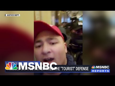 Alleged Capitol Rioter Tries The 'Tourist' Defense