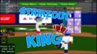 ⚾👑[HCBB ROBLOX] Strikeout King!!!👑⚾