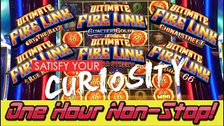 🌡️1 Hour Non-Stop 🔥 Ultimate Fire Link 🎰 Slot Machine @ Resorts World Casino NYC