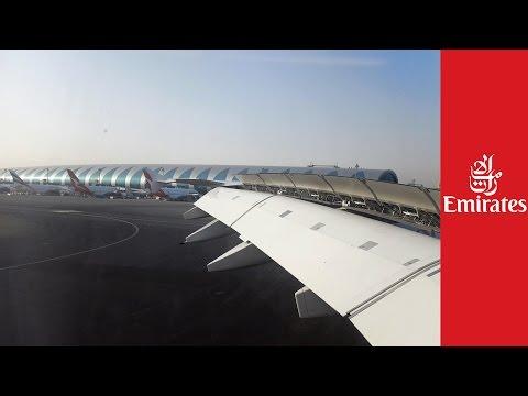 [4K] Emirates A380 EK20 Smooth Landing in Dubai