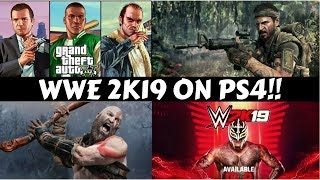 WWE 2K19 On PS4!! #GS3