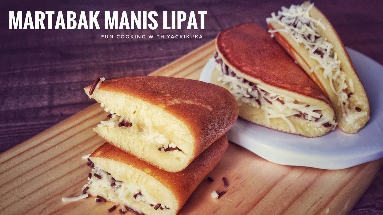 Martabak Manis Mini Tanpa Cetakan Anti Gagal Indonesian Pancake