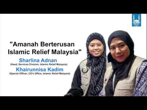 Amanah Berterusan Islamic Relief Malaysia - Bernama Radio 24