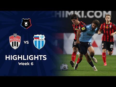 Khimki R. Volgograd Goals And Highlights