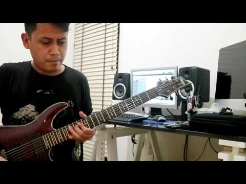 EVOLUSI - EET SJAHRANIE (edane) guitar cover