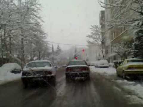 Tehran Snow Winter 2008 Velenjak To Zaferaniye
