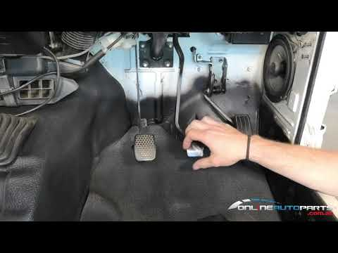How to Replace Brake, Clutch or Accelerator Pedal Pad Rubber Suzuki Sierra