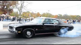 1970 Buick GS 455 Burnout and Pass