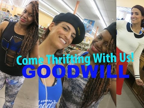 Goodwill Spring & Summer Finds|Come Thrifting With Us| #ThriftersAnonymous