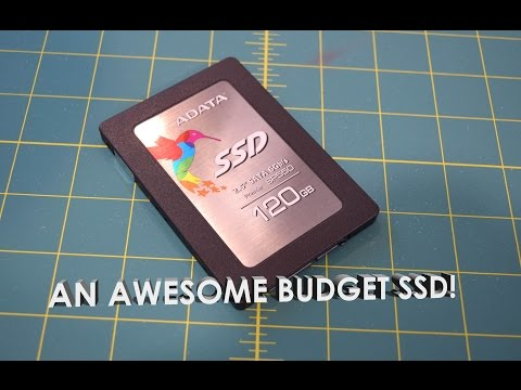 "ADATA SP550 120GB 2.5"" SATA III Solid State Drive Unboxing, Overview, Benchmark"