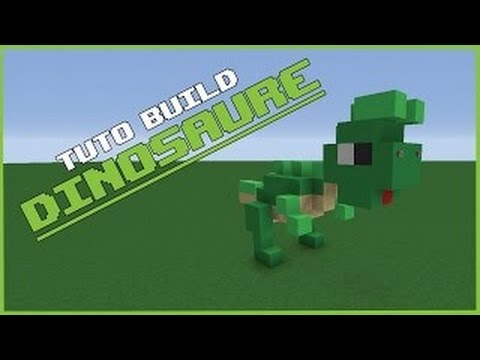 tuto construction dinosaure sur minecraft youtube. Black Bedroom Furniture Sets. Home Design Ideas