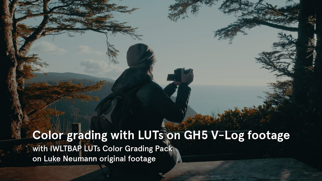 Color grading with LUTs by IWLTBAP on GH5 V-Log footage