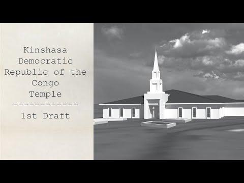 Kinshasa Democratic Republic of the Congo Temple (First attempt)