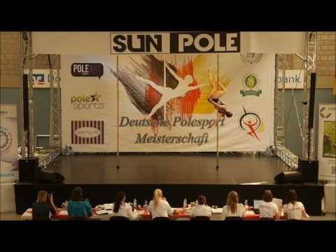 Deutsche Polesport Meisterschaft 2016 - 2. Platz Senior Women Professional - Rebecca Werner
