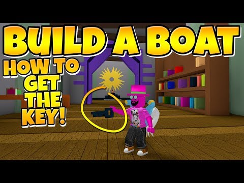 Build A Boat How To Get The Key Youtube