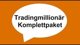 Tradingmillionär Komplettpaket * Online Geld verdienen mit Trading System * daytrading  lernen