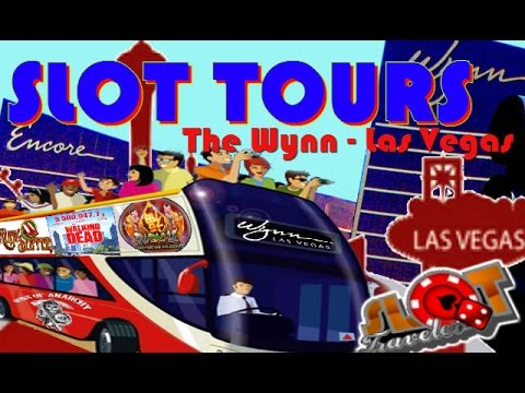 SLOT TOURS - The Wynn Las Vegas - Slot Machine Bonus Wins!! ♠ SlotTraveler ♠ - 동영상