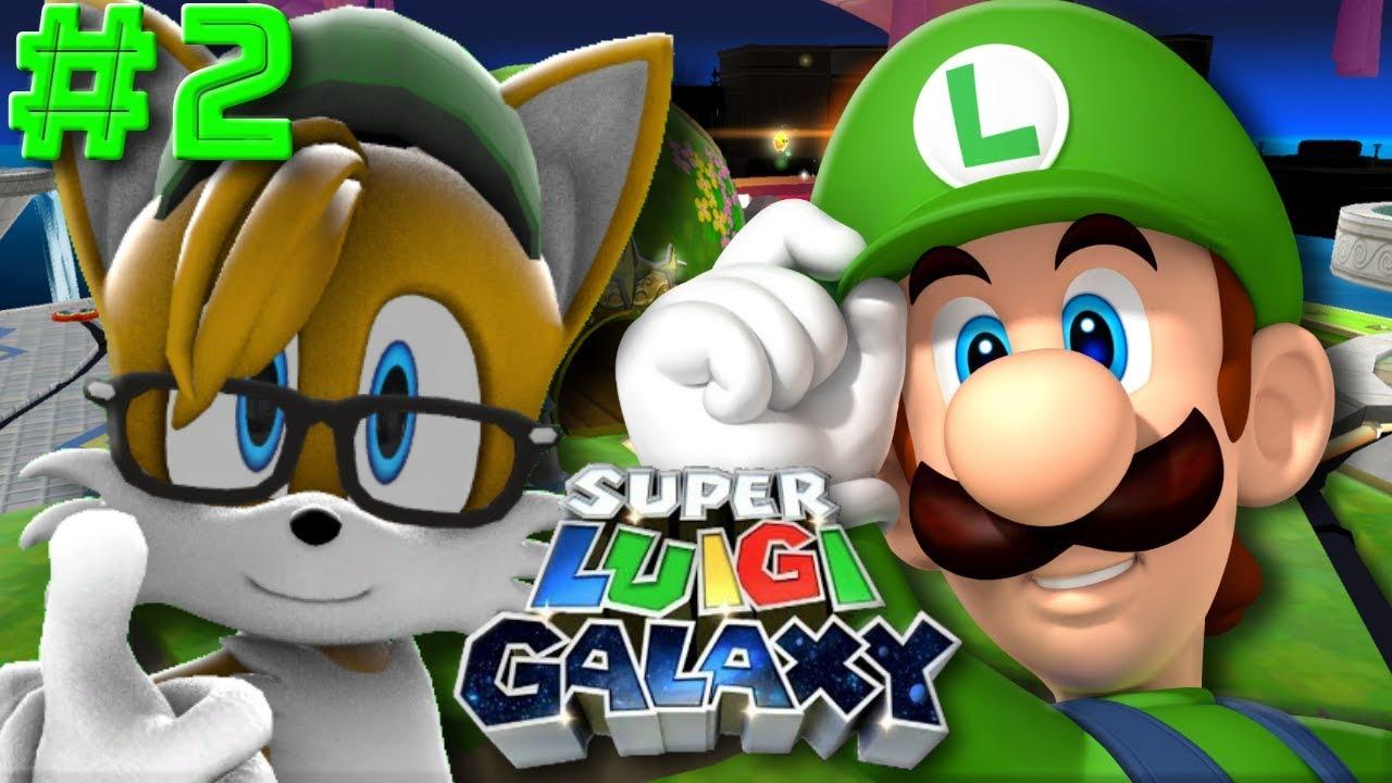 Super Luigi Galaxy Walkthrough Part 2    Completing The Terrace Dome!