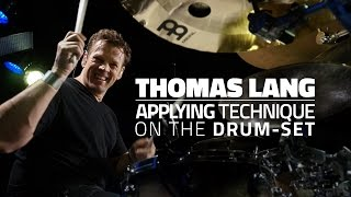Thomas Lang: Applying Technique On The Drum-Set - Drum Lesson (Drumeo)