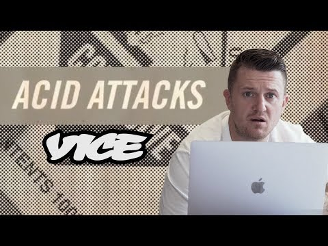 Tommy Robinson Reacts to VICE on Acid Attacks