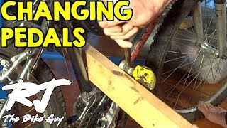 Changing Bike Pedals - Stuck Pedal