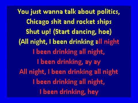 Chance The Rapper -  All Night (karaoke)