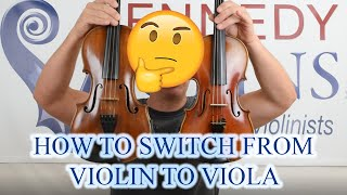 How to Switch From Violin to Viola